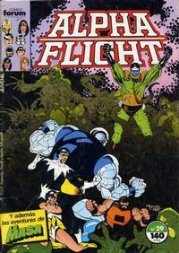 Cover Thumbnail for Alpha Flight (Planeta DeAgostini, 1985 series) #29