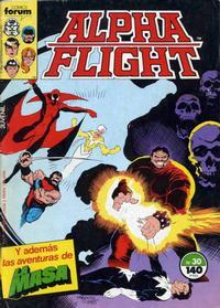 Cover Thumbnail for Alpha Flight (Planeta DeAgostini, 1985 series) #30
