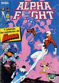 Cover Thumbnail for Alpha Flight (Planeta DeAgostini, 1985 series) #31