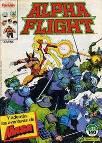 Cover Thumbnail for Alpha Flight (Planeta DeAgostini, 1985 series) #33