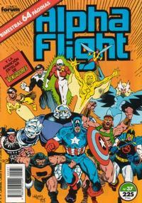 Cover Thumbnail for Alpha Flight (Planeta DeAgostini, 1985 series) #37