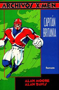 Cover Thumbnail for Archivos X-Men (Planeta DeAgostini, 1995 series) #5 - Capitán Britania