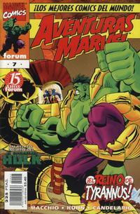 Cover for Aventuras Marvel (Planeta DeAgostini, 1998 series) #7