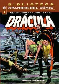 Cover Thumbnail for Biblioteca Grandes Del Cómic: Drácula (Planeta DeAgostini, 2002 series) #1
