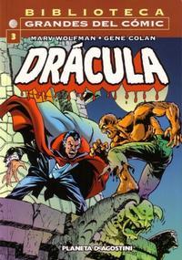 Cover Thumbnail for Biblioteca Grandes Del Cómic: Drácula (Planeta DeAgostini, 2002 series) #3