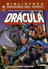 Cover Thumbnail for Biblioteca Grandes Del Cómic: Drácula (Planeta DeAgostini, 2002 series) #5