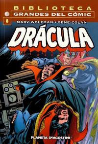 Cover for Biblioteca Grandes Del Cómic: Drácula (Planeta DeAgostini, 2002 series) #8