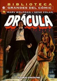 Cover Thumbnail for Biblioteca Grandes Del Cómic: Drácula (Planeta DeAgostini, 2002 series) #16