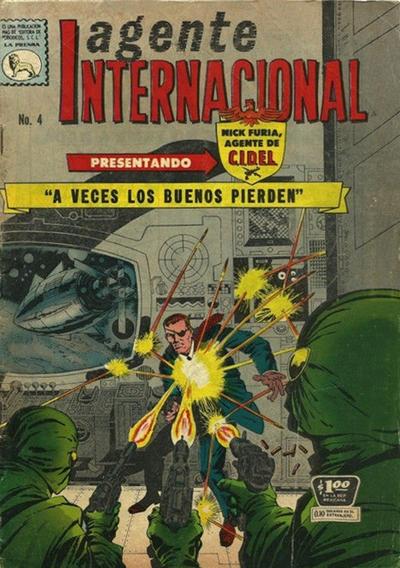 Cover for Agente Internacional (Editora de Periódicos La Prensa S.C.L., 1966 series) #4