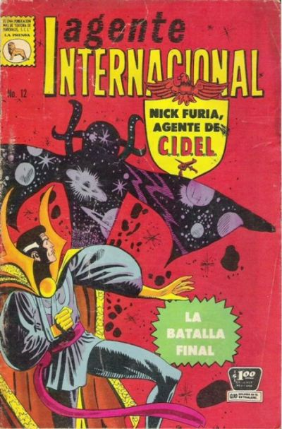 Cover for Agente Internacional (Editora de Periódicos La Prensa S.C.L., 1966 series) #12
