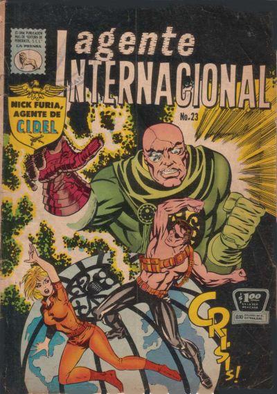 Cover for Agente Internacional (Editora de Periódicos La Prensa S.C.L., 1966 series) #23