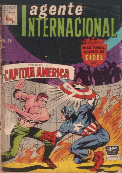 Cover for Agente Internacional (Editora de Periódicos La Prensa S.C.L., 1966 series) #25