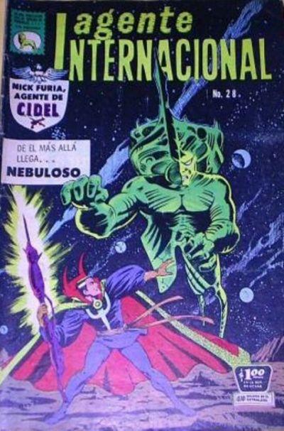 Cover for Agente Internacional (Editora de Periódicos La Prensa S.C.L., 1966 series) #28