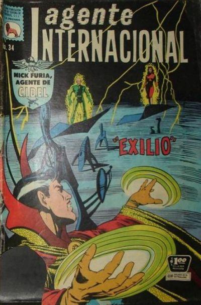 Cover for Agente Internacional (Editora de Periódicos La Prensa S.C.L., 1966 series) #34