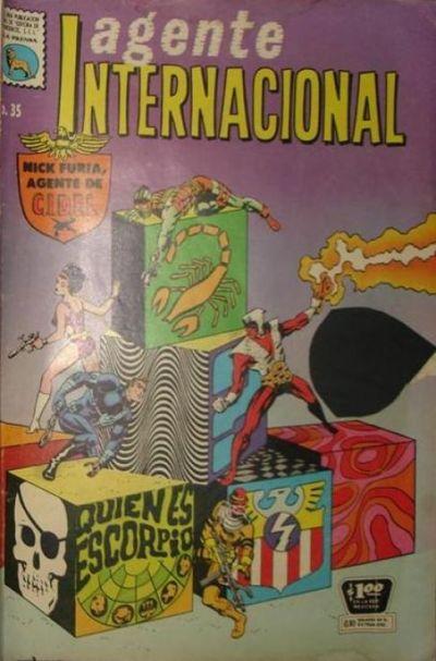 Cover for Agente Internacional (Editora de Periódicos La Prensa S.C.L., 1966 series) #35