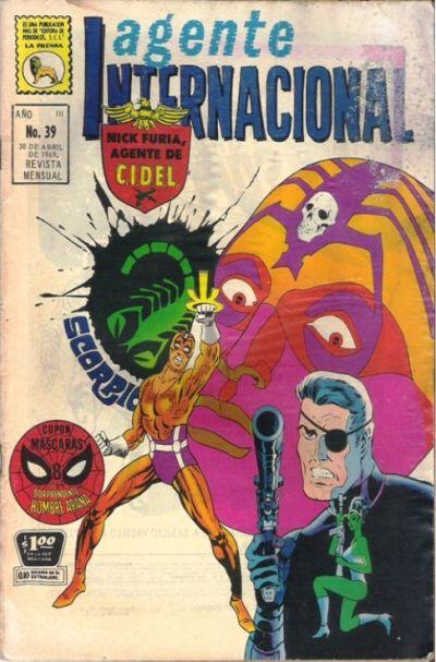 Cover for Agente Internacional (Editora de Periódicos La Prensa S.C.L., 1966 series) #39