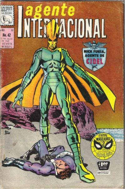 Cover for Agente Internacional (Editora de Periódicos La Prensa S.C.L., 1966 series) #42