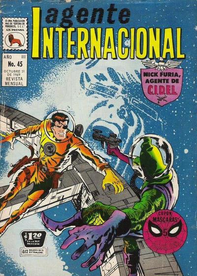 Cover for Agente Internacional (Editora de Periódicos La Prensa S.C.L., 1966 series) #45