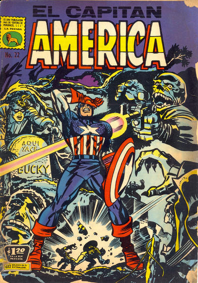 Cover for Capitán América (Editora de Periódicos La Prensa S.C.L., 1968 series) #22