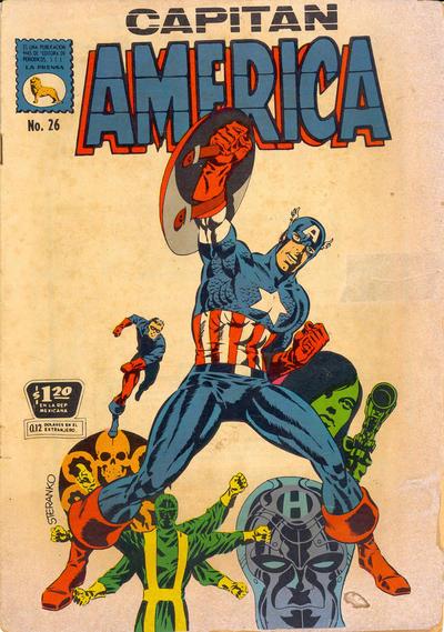 Cover for Capitán América (Editora de Periódicos La Prensa S.C.L., 1968 series) #26