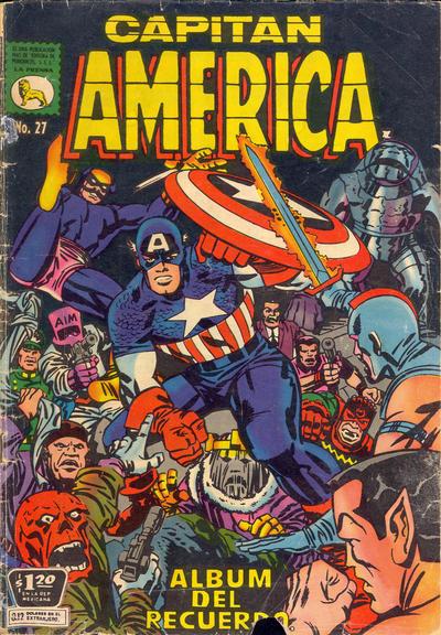 Cover for Capitán América (Editora de Periódicos La Prensa S.C.L., 1968 series) #27