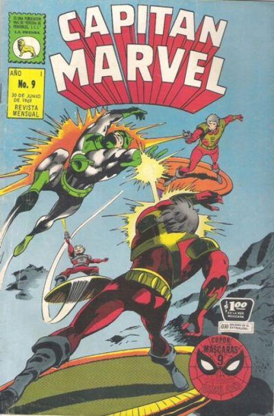 Cover for Capitán Marvel (Editora de Periódicos La Prensa S.C.L., 1968 series) #9
