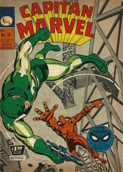 Cover for Capitán Marvel (Editora de Periódicos La Prensa S.C.L., 1968 series) #13