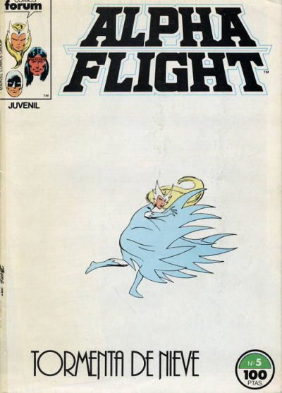 Cover for Alpha Flight (Planeta DeAgostini, 1985 series) #5