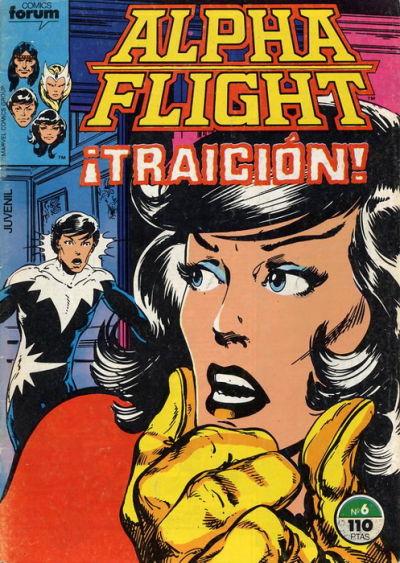 Cover for Alpha Flight (Planeta DeAgostini, 1985 series) #6
