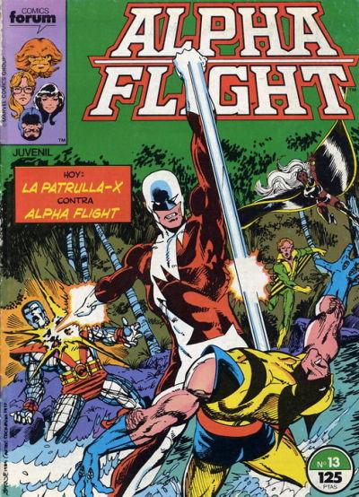 Cover for Alpha Flight (Planeta DeAgostini, 1985 series) #13