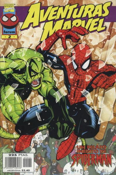Cover for Aventuras Marvel (Planeta DeAgostini, 1998 series) #2