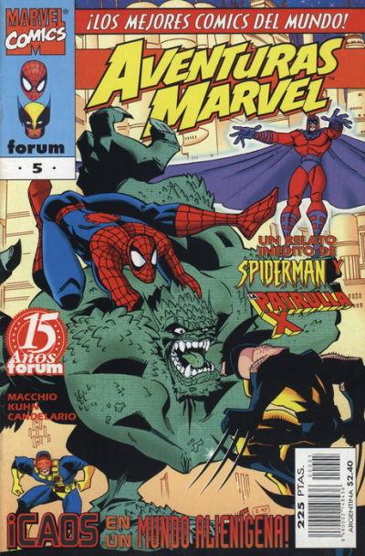 Cover for Aventuras Marvel (Planeta DeAgostini, 1998 series) #5