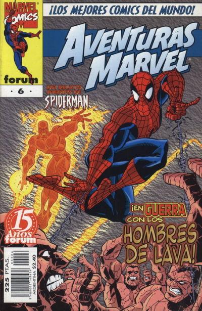 Cover for Aventuras Marvel (Planeta DeAgostini, 1998 series) #6