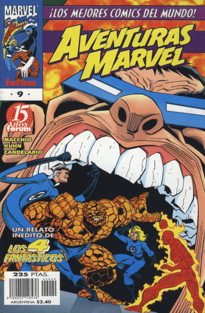 Cover for Aventuras Marvel (Planeta DeAgostini, 1998 series) #9
