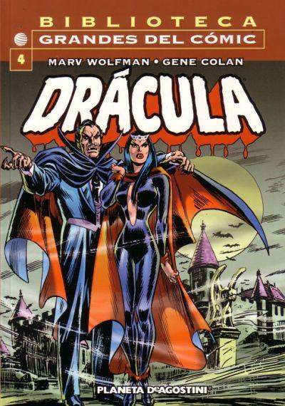 Cover for Biblioteca Grandes Del Cómic: Drácula (Planeta DeAgostini, 2002 series) #4