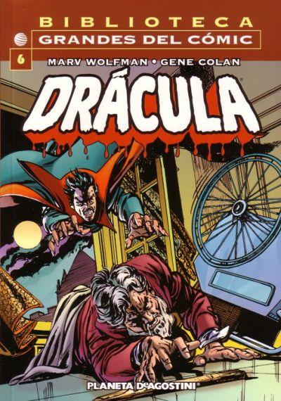 Cover for Biblioteca Grandes Del Cómic: Drácula (Planeta DeAgostini, 2002 series) #6