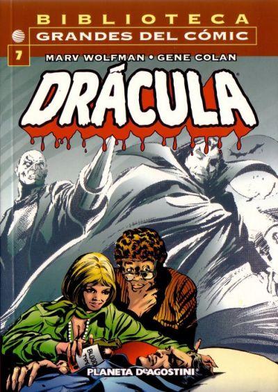 Cover for Biblioteca Grandes Del Cómic: Drácula (Planeta DeAgostini, 2002 series) #7