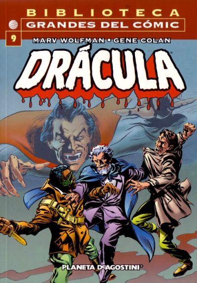 Cover for Biblioteca Grandes Del Cómic: Drácula (Planeta DeAgostini, 2002 series) #9