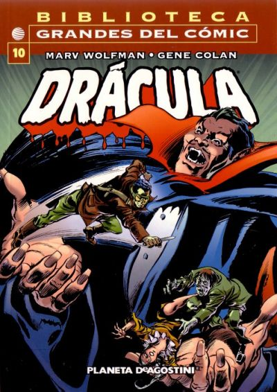 Cover for Biblioteca Grandes Del Cómic: Drácula (Planeta DeAgostini, 2002 series) #10