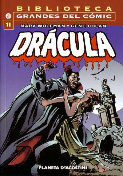 Cover for Biblioteca Grandes Del Cómic: Drácula (Planeta DeAgostini, 2002 series) #11