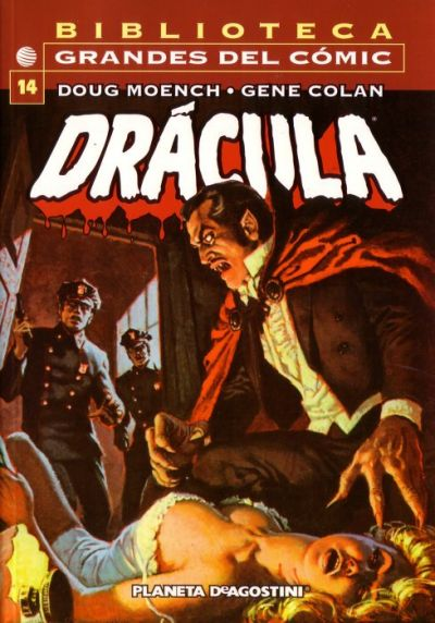Cover for Biblioteca Grandes Del Cómic: Drácula (Planeta DeAgostini, 2002 series) #14