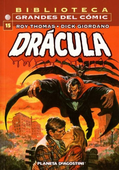 Cover for Biblioteca Grandes Del Cómic: Drácula (Planeta DeAgostini, 2002 series) #15