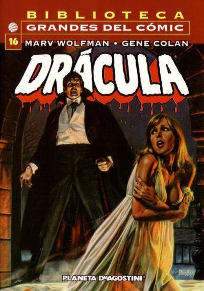 Cover for Biblioteca Grandes Del Cómic: Drácula (Planeta DeAgostini, 2002 series) #16