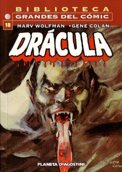 Cover for Biblioteca Grandes Del Cómic: Drácula (Planeta DeAgostini, 2002 series) #18