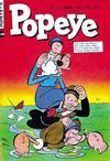 Cover for Popeye (Editora Brasil-América [EBAL], 1953 series) #4