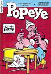 Cover for Popeye (Editora Brasil-América [EBAL], 1953 series) #8