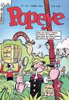 Cover for Popeye (Editora Brasil-América [EBAL], 1953 series) #16