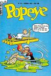 Cover for Popeye (Editora Brasil-América [EBAL], 1953 series) #23