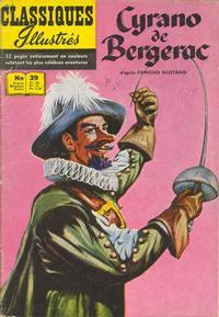 Cover Thumbnail for Classiques Illustrés (Publications Classiques Internationales, 1957 series) #39 - Cyrano de Bergerac