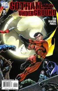 Cover Thumbnail for Gotham Underground (DC, 2007 series) #5